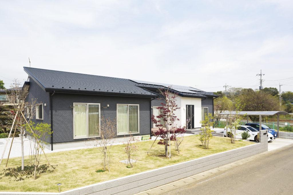 【狭山市 K様邸】 注目の平屋建て、柱のない大空間を持つ家。