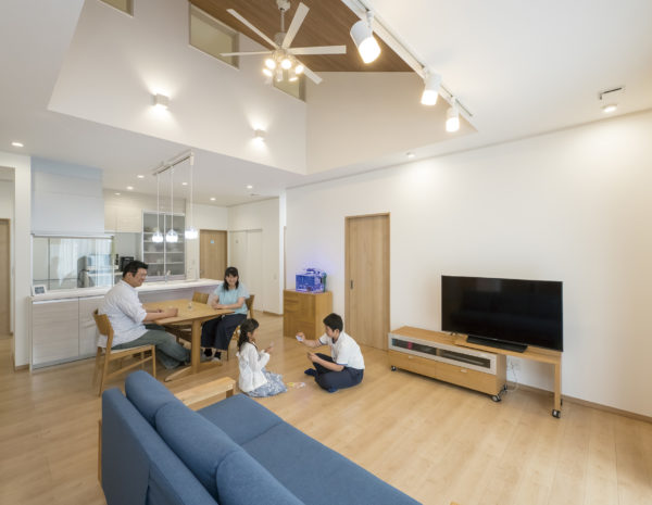【I様邸 川越市】開放的+機能的な暮らしを愉しむ平屋の家