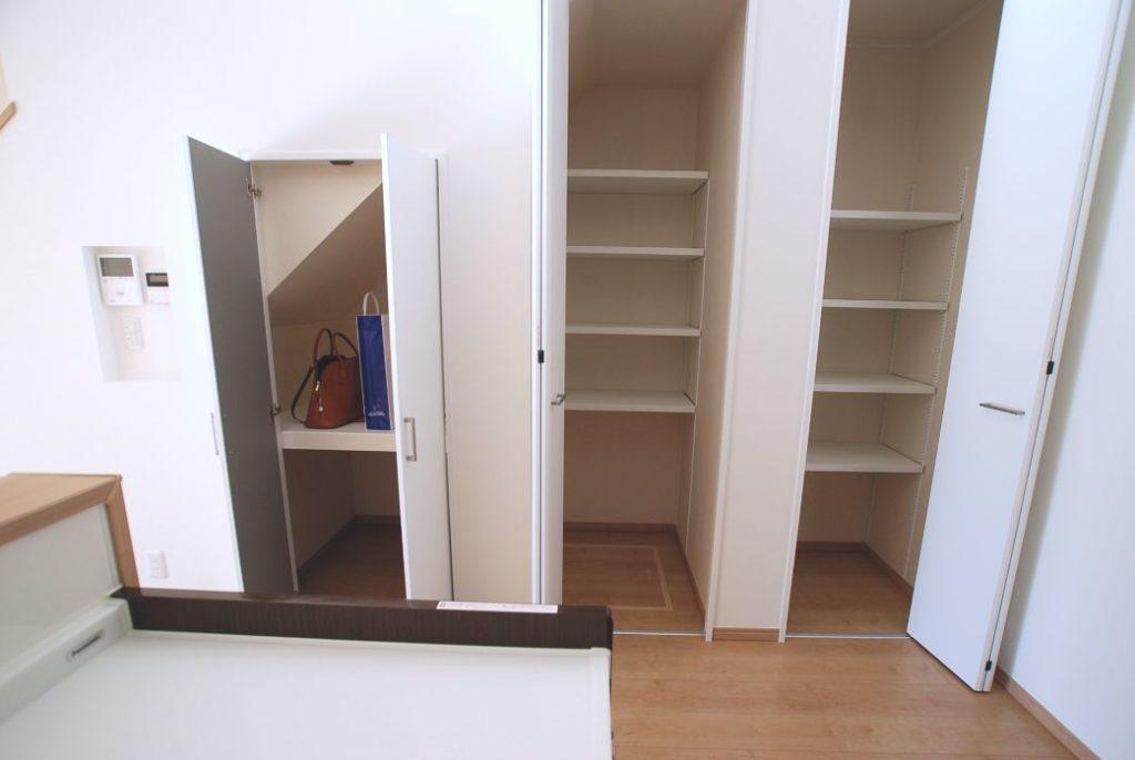 収納 closet